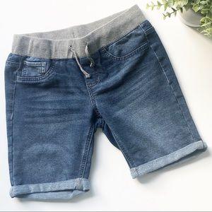SO Jean Shorts Elastic Waist Girls Size 12